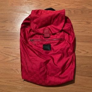 GUCCI Nylon Backpack From Viaggio Collection